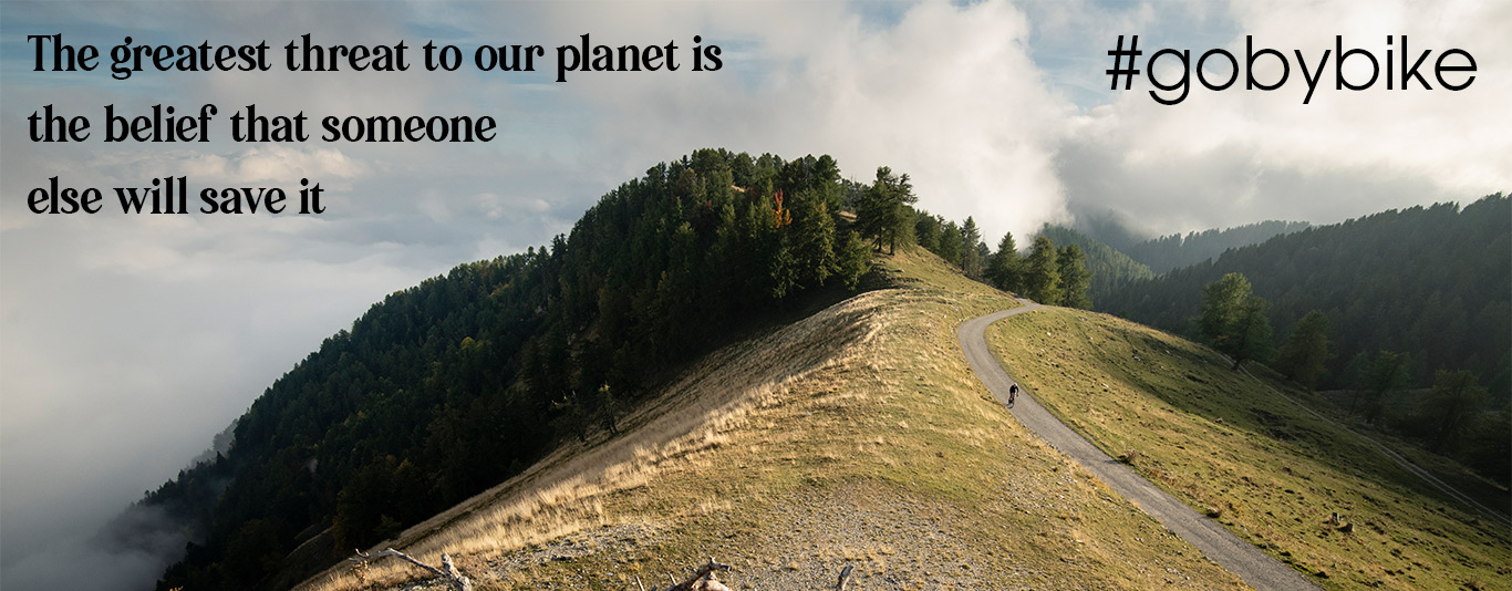 Trek Go By Bike, Our world our responsibility link