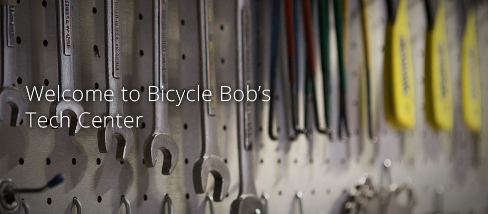 Welcome to Bicycle Bob's Tech Center