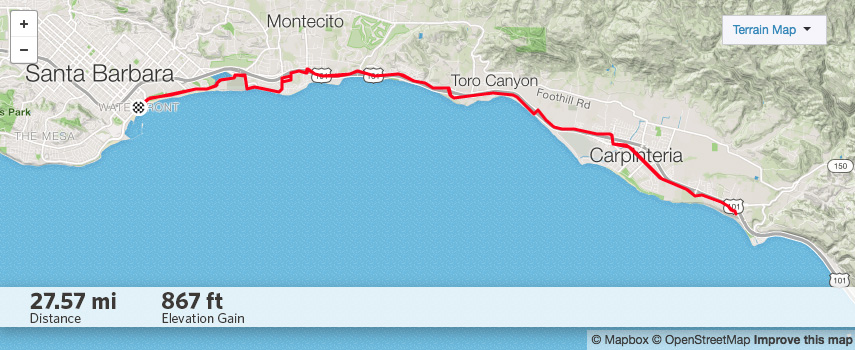 Carpinteria map
