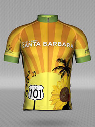 Bicycle Bob's Santa Barbara Sunburst Men's Jersey