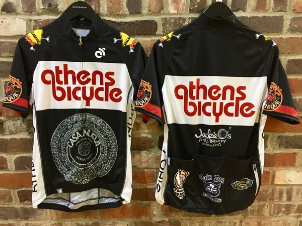 "Athens Bicycle Women's ""Favorite Places in Athens"" Jersey"