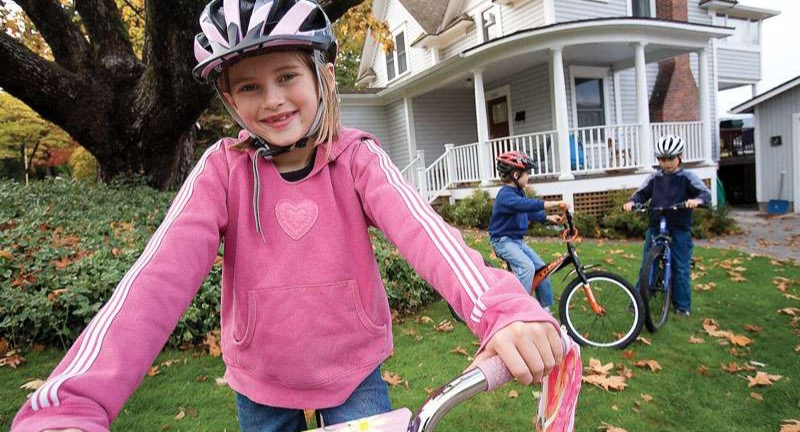 Kids bike trade-up program at Athens Bicycle