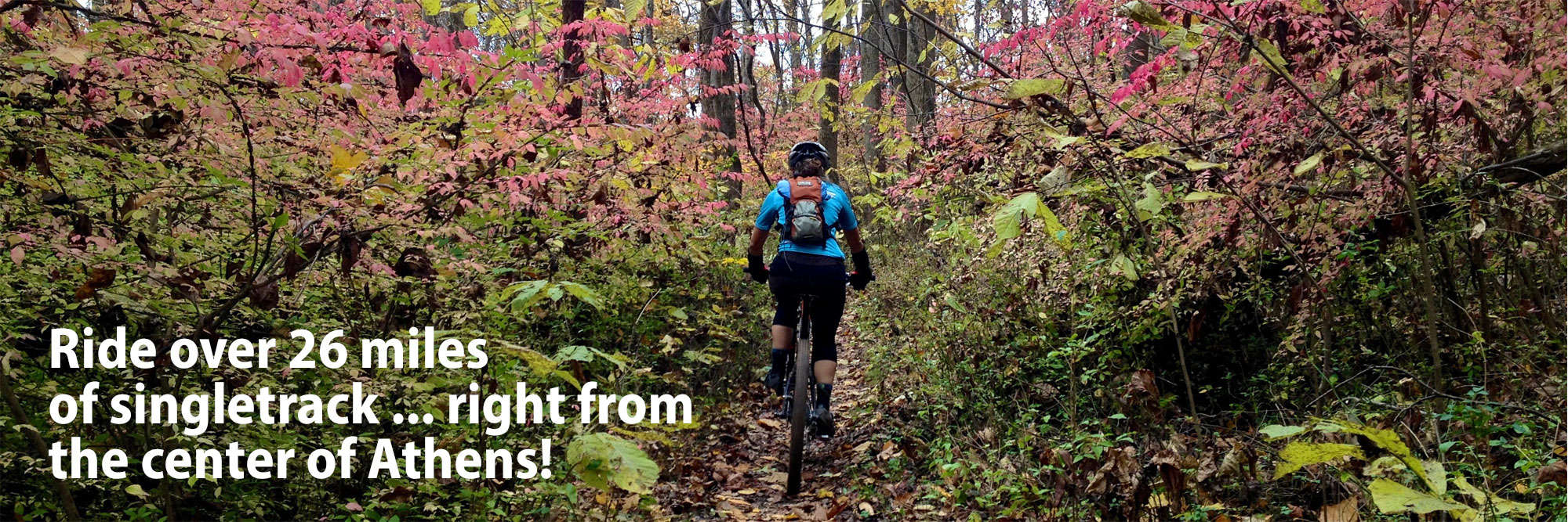 Mountain biking in Athens, Ohio