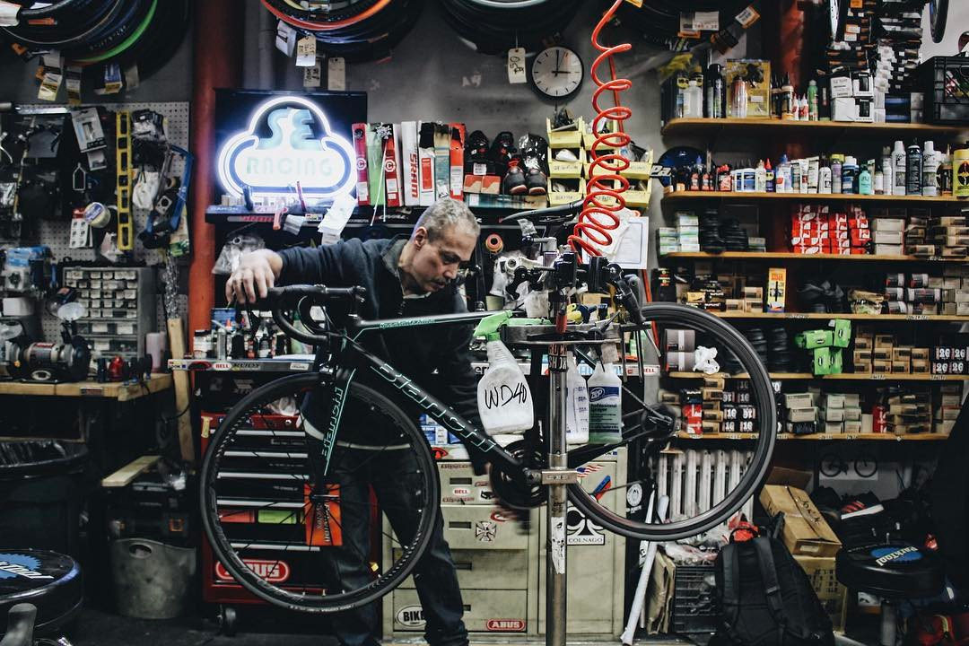 Bike repair & tune ups