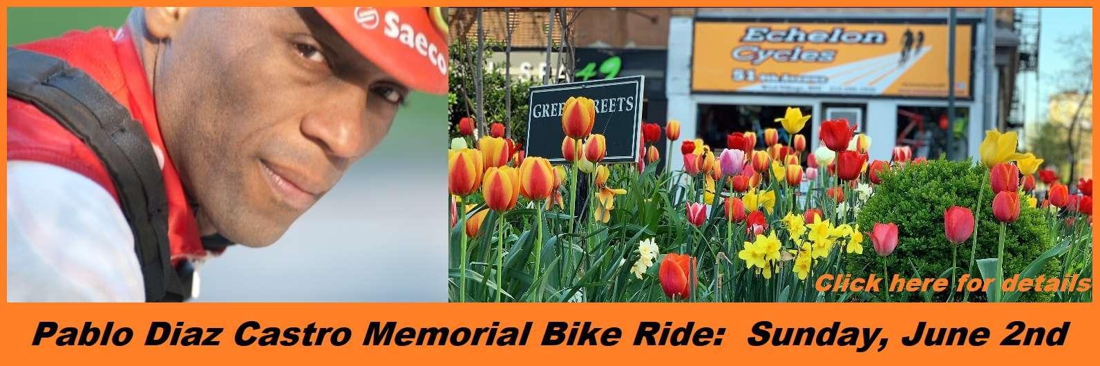 Pablo Diaz Castro Memorial Bike Ride