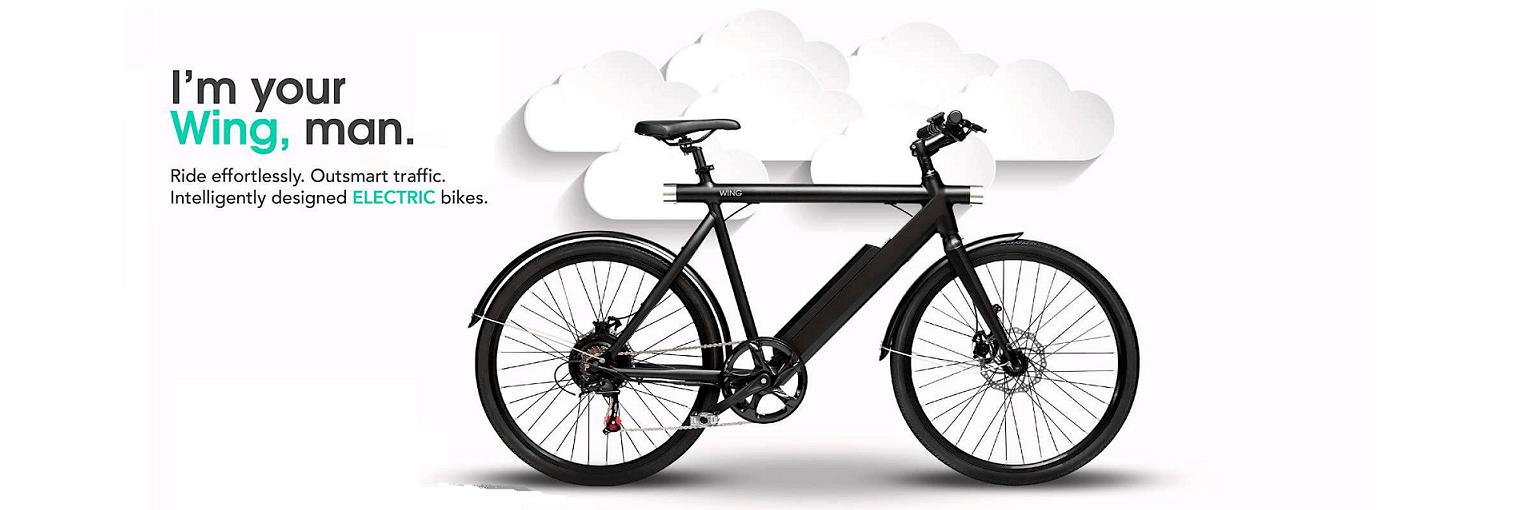Wing bike Freedom Black