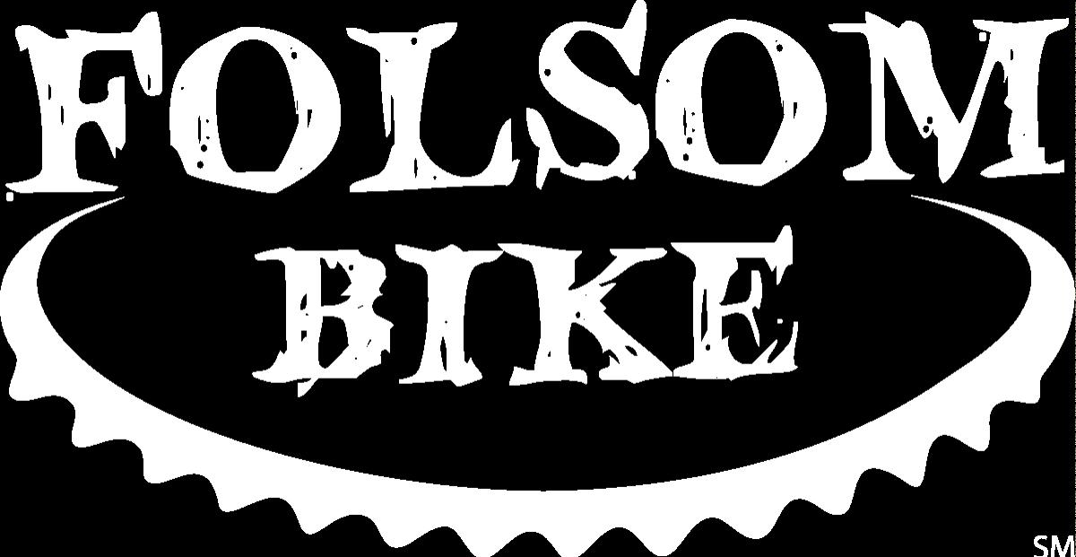 Folsom Bike Logo White