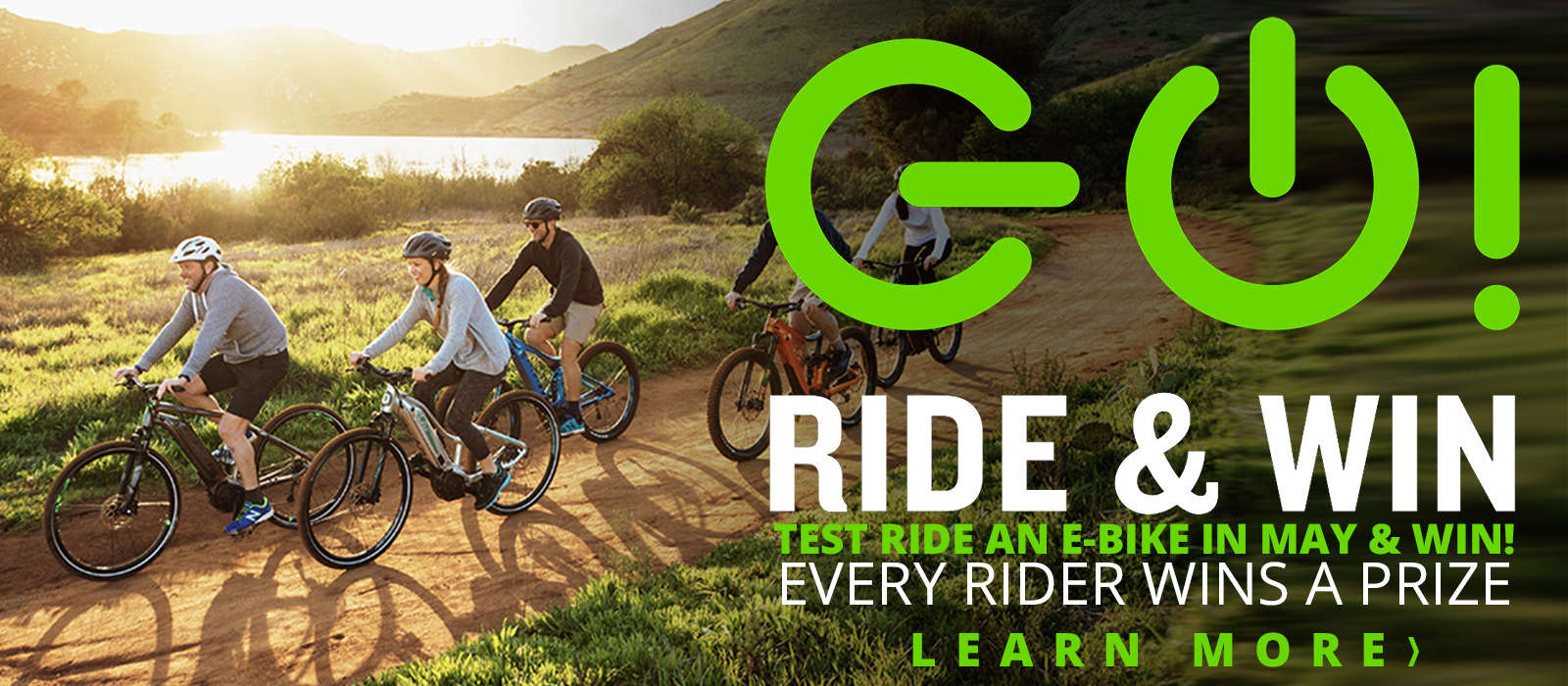 E bike ride and win