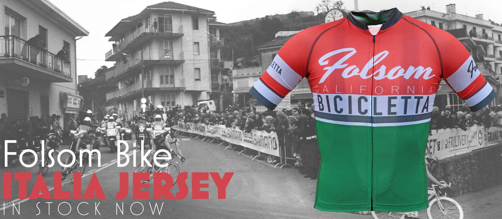 Folsom Bike Italia Jersey