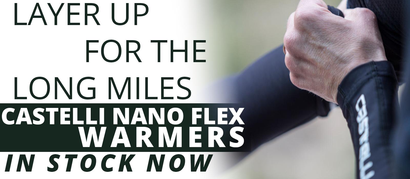 Nano Flex Arm warmers