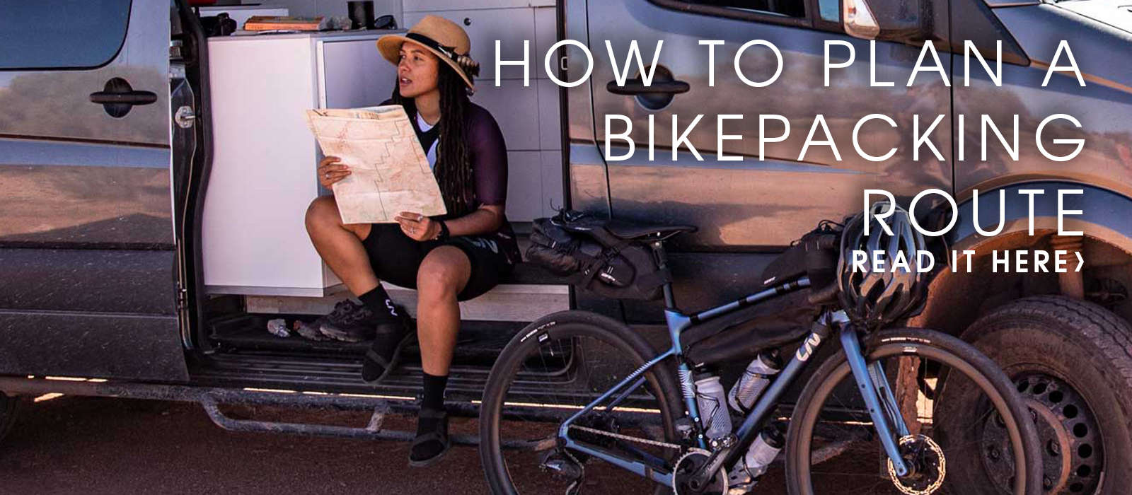 How to Plan a Bikepacking Route with Liv