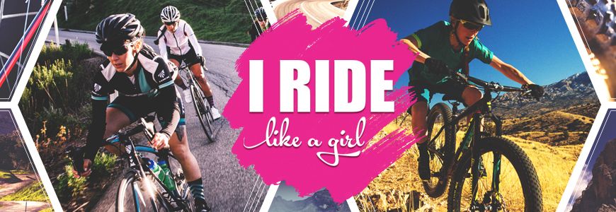 Ride Like A Girl Banner