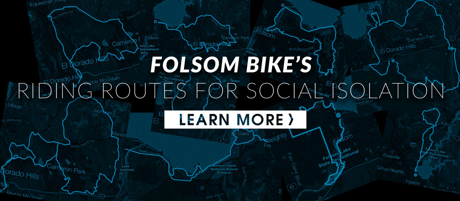 Routes for Social Isolation riding