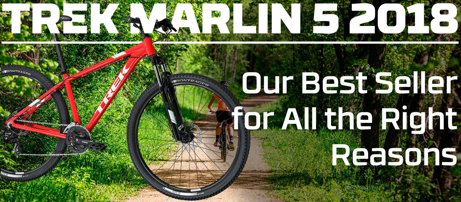 Trek Marlin 5 2018 Review - Folsom Bike 2 Great Bike Shops - 2