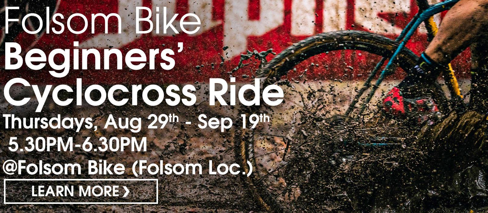 Beginners' cyclocross ride