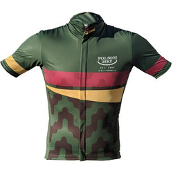 Folsom Bike Winter Green 2019 Jersey