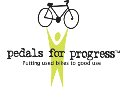 Pedals for Progress Logo