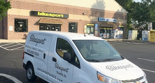 Our Bike Shop Location
