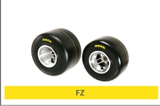 MG FZ(Yellow) Kart Tires