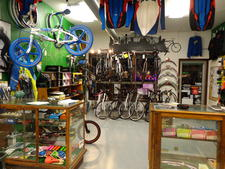 Earls Bike Shop has a great selection of bikes, parts, & accessories.