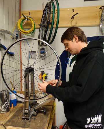 Earl's Bike has the expertise and tools to fix your bike right!