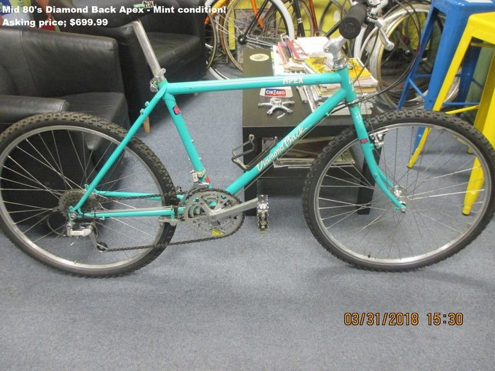 Vintage Bikes & Parts - Woody's Cyclery Middleton, MA  01949