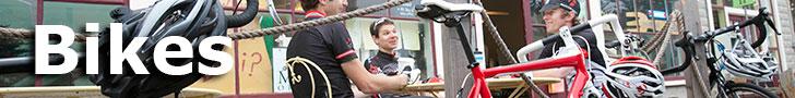 Bikes at Trek Stop Bicycles