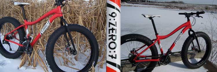 9:Zero:7 bikes at Trek Stop bicycles