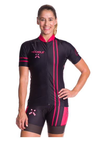Coeur Cycling Jersey in Courage '17