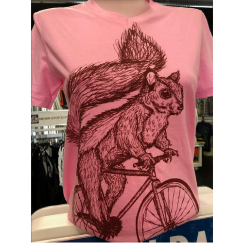Dark Cycle Clothing [ squirrel on a bicycle ]