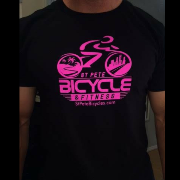 St Pete Bicycle & Fitness Limited Edition 2016 Shirt Men's Black