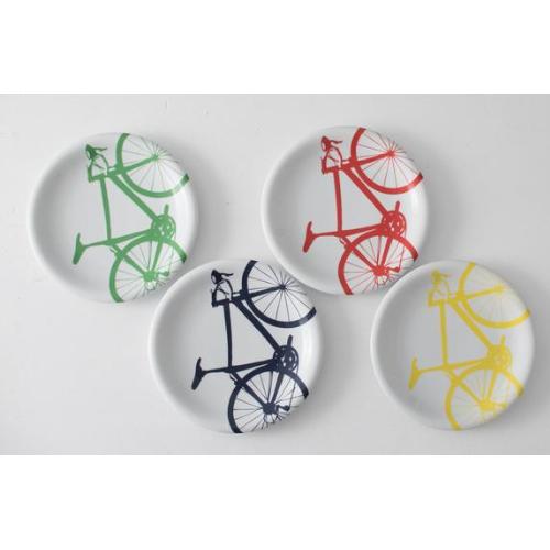 Vital Industries Bicycle Dinner Plates