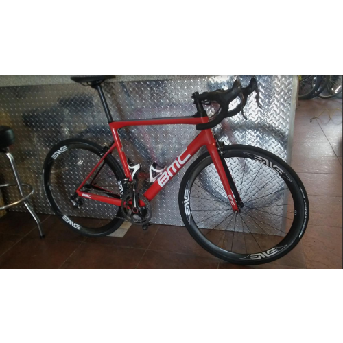 BMC Used BMC SLR01 58 Super Record EPS Red and Black
