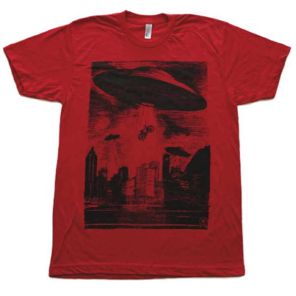Dark Cycle Clothing ufo t-shirt