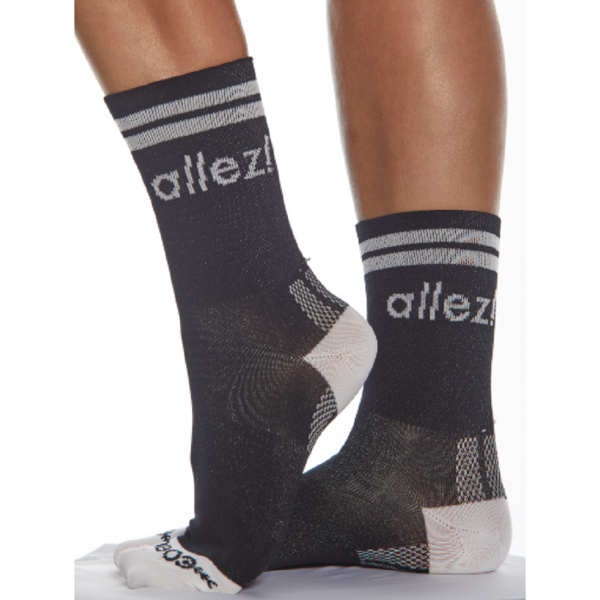 Coeur Women's Cycling/Run Socks - Allez!