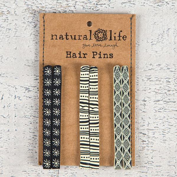 Natural Life Hair Pins