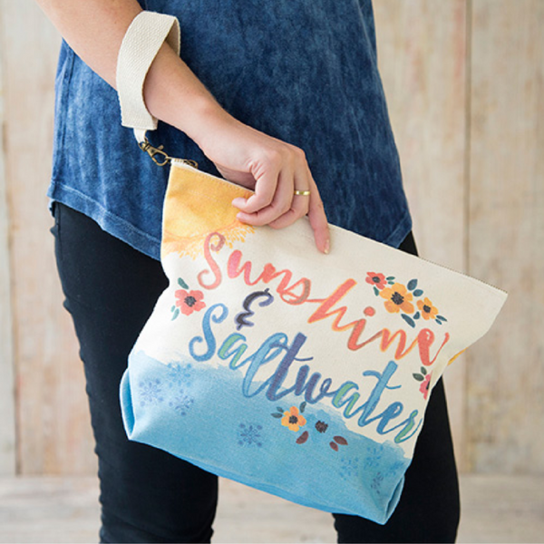 Natural Life Sunshine & Saltwater Canvas Carryall