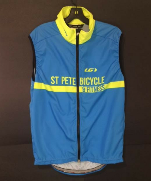 St Pete Bicycle & Fitness Prolight Vest Blue & Yellow