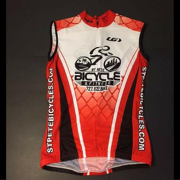 St Pete Bicycle & Fitness Men's Sleeveless Jersey