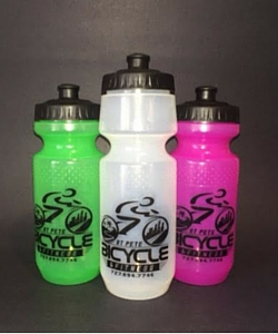 St Pete Bicycle & Fitness Water Bottle, 21 Ounce