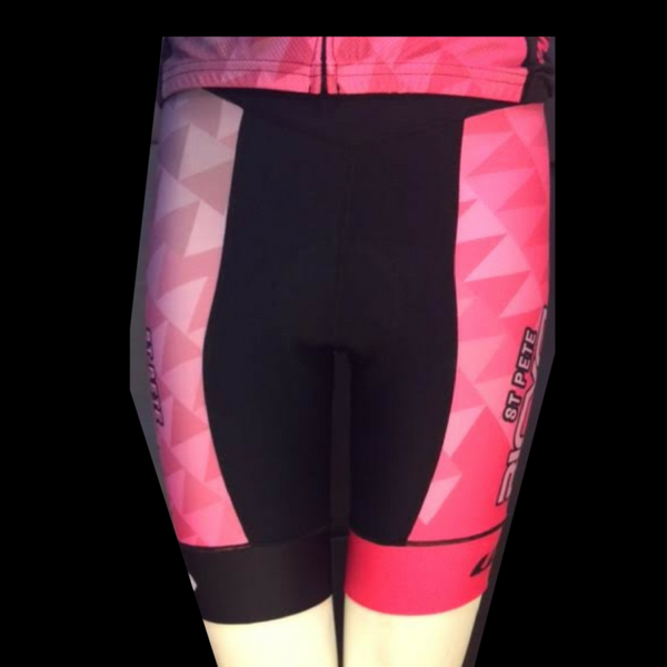 St Pete Bicycle & Fitness Women's Power Short Pink