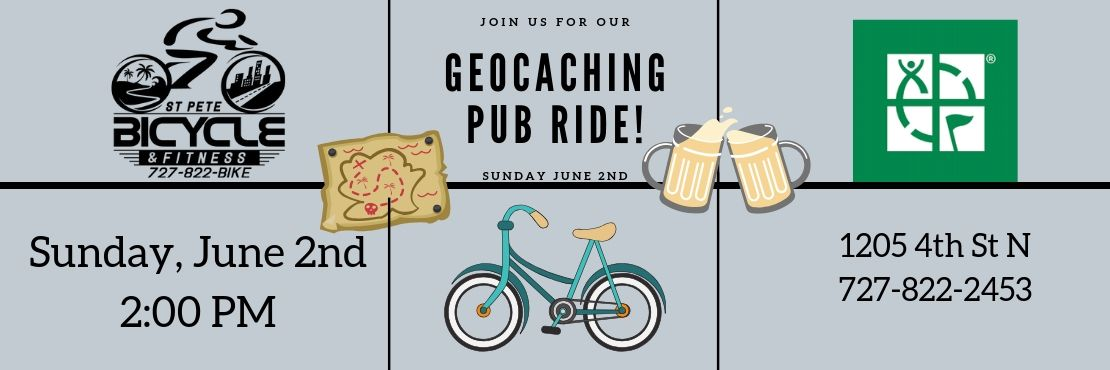 Geocacehe Cruiser Ride Pub Crawl