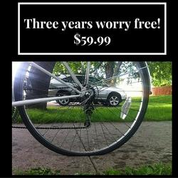 St Pete Bicycle & Fitness Flat Repair Package