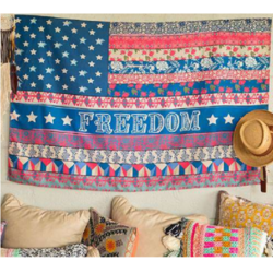 Natural Life Freedom Tapestry