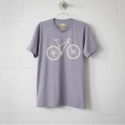 Vital Industries Mountain Bike Men's Tee, Stone on Slate
