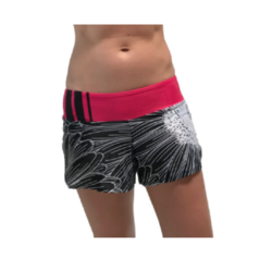 Coeur Women's Running Shorts in Electric Daisy Design