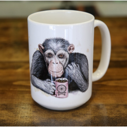 Dark Cycle Clothing Chimpanzee Mug