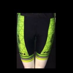 St Pete Bicycle & Fitness Women's Power Shorts Green St Pete