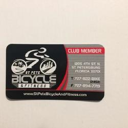 St Pete Bicycle & Fitness Club Membership