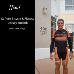 St Pete Bicycle & Fitness Equipe Pro Jersey Orange
